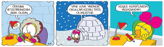 s20170421-karikatur-Limon-kar-kutuplar-ev-odevi-igloo-Limonun-odasi