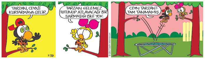 s20170730-karikatur-Limon-Zeytin-Tarzan-Jane-sarmasik-trambolin-bahce