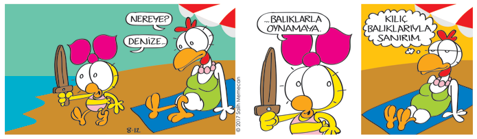 s20170812-karikatur-Limon-Citcit-kilic-baligi-deniz-yaz-plaj