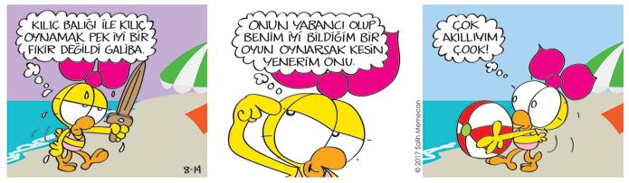 s20170814-karikatur-limon-kilic-baligi-hayvan-deniz-top-plaj