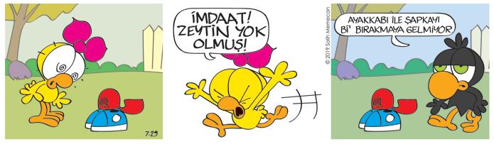 Limon ile Zeytin - Cok komik turkce karikaturler